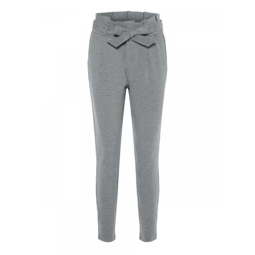 VERO MODA VMEVA HR LOOSE PAPERBAG PANT BNOOS COLOR MEDIUM GREY MELANGE REF 10205932