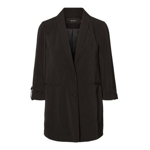 VERO MODA VMAMAZING 3-4 LONG BLAZER COLOUR BLACK REF 10223035