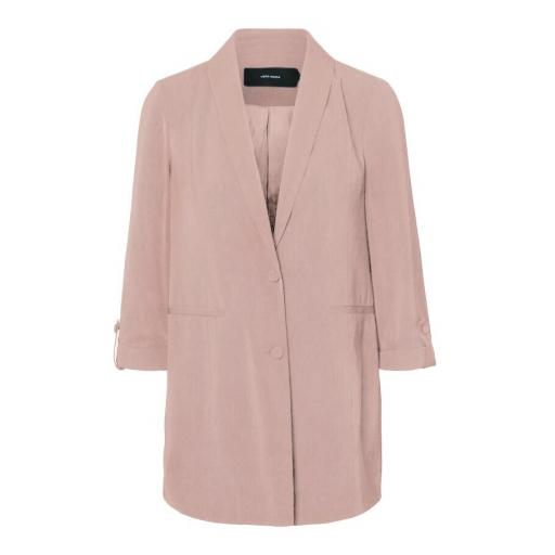 VERO MODA VMAMAZING 3-4 LONG BLAZER COLOUR CHINTZ ROSE REF 10223035