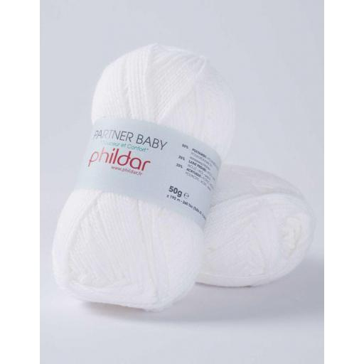 PHIL PATNER BABY COLOR BLANC
