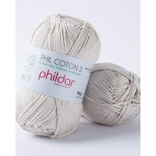 PHIL COTON 3 COLOR PERLE