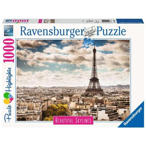 RAVENSBURGER BEAUTIFUL SKYLINES PARIS 1.000 PIEZAS