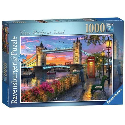 RAVENSBURGER TOWER BRIDGE AL ATARDECER 1000 PIEZAS
