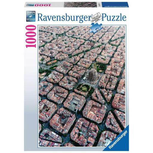RAVENSBURGER VISTA AEREA DE BARCELONA 1000 PIEZAS