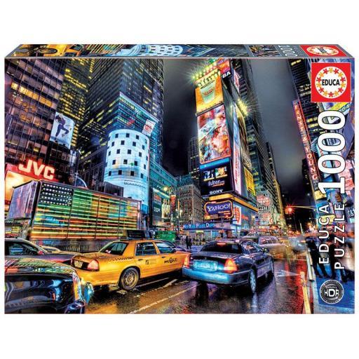 EDUCA BORRAS REF 15525  TIMES SQUARE NEW YORK  1000 PIEZAS