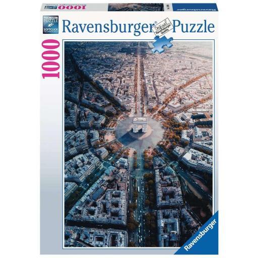 RAVENSBURGER PARIS DESDE ARRIBA 1.000 PIEZAS