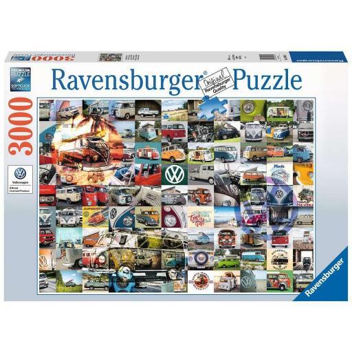 RAVENSBURGER 99 MOMENTOS VW BULLI 3000 PIEZAS