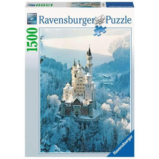RAVENSBURGER NEUSCHWANSTEIN EN INVIERNO 1500 PIEZAS