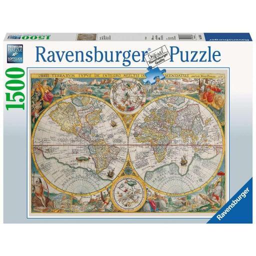 RAVENSBURGER MAPA DEL MUNDO 1594  1.500 PIEZAS