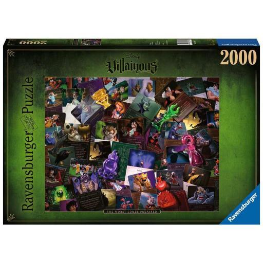 RAVENSBURGER VILLAINOUS ALL VILLAINS 2000 PIEZAS
