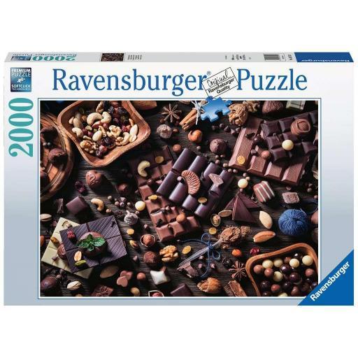 RAVENSBURGER PUZZLE PARAISO DE CHOCOLATE  2000 PIEZAS