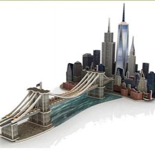MANHATTAN DREAM PUZZLE 3D