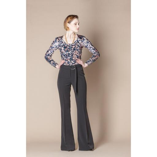 SCRIPTA TROUSERS RE 195009 BLACK