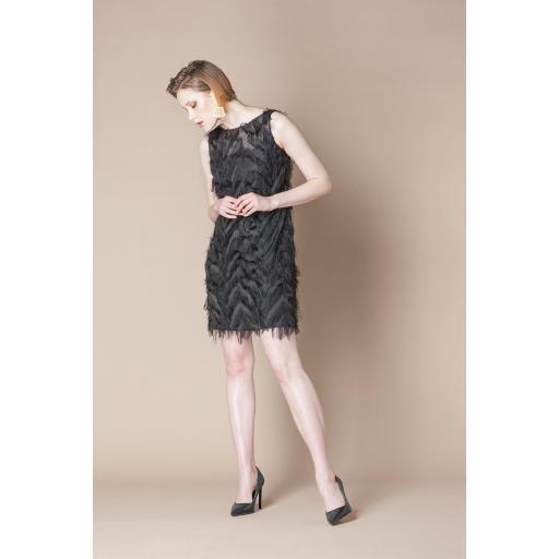SCRIPTA DRESS BLACK 195024