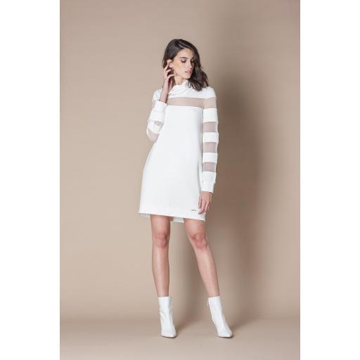 SCRIPTA DRESS WHITE REF 195114