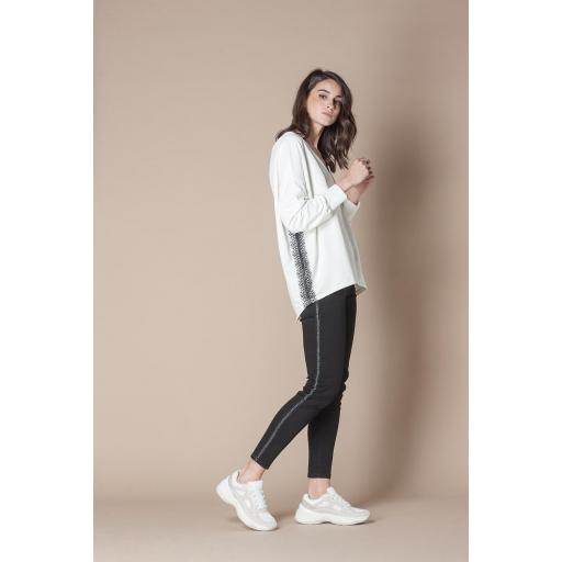 SCRIPTA SWEAT REF 195115 WHITE