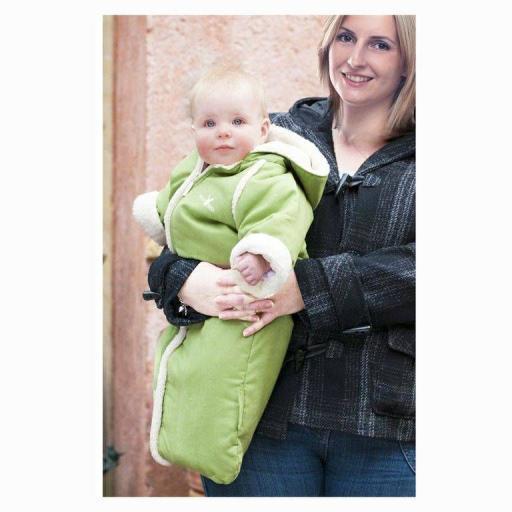 Wallaboo Baby Overall Mono Saco Funcional Verde [1]