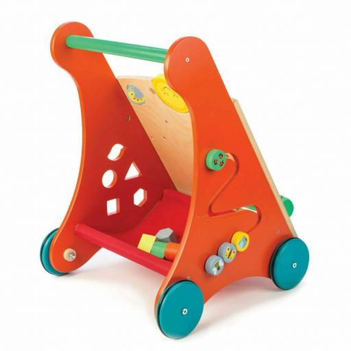 Correpasillo Activity Walker Leaf Toys Madera [1]