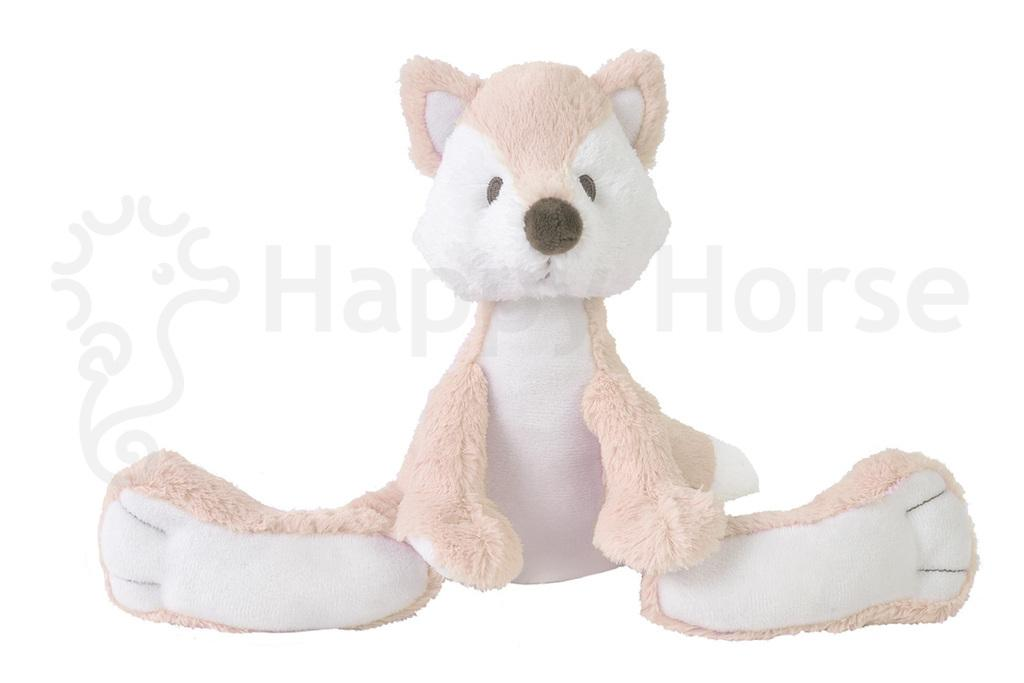 Happy Horse Foxy the fox mini soft toy pink white Nº 1