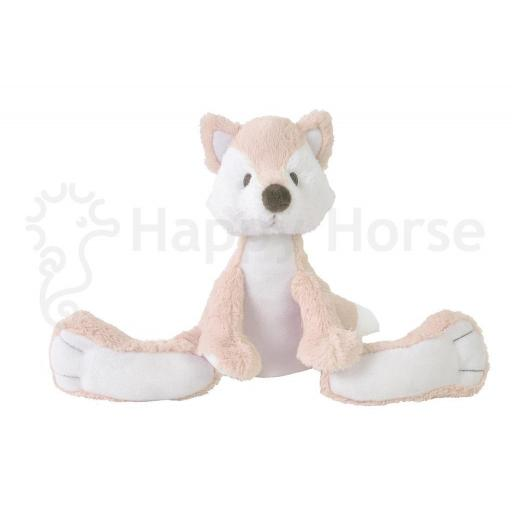 Happy Horse Foxy the fox mini soft toy pink white Nº 1 [0]