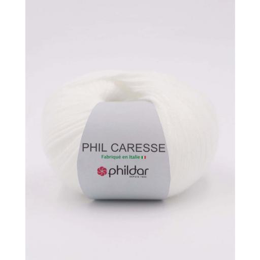 PHIL CARESSE COLOR BLANC