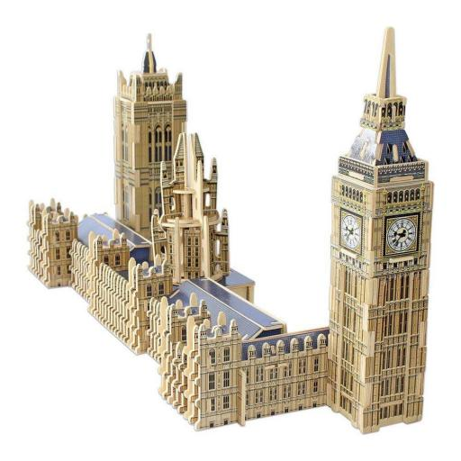 PUZZLE 3D SCULPTURE  BIG BEN AND THE HOUSES OF PARLAMENT LONDON
