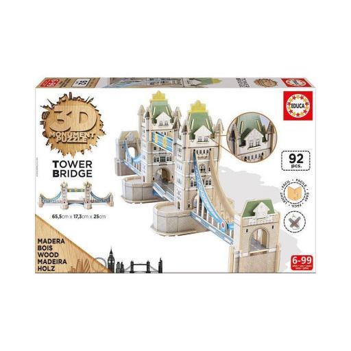 PUZZLE 3D SCULPTURE TOWER BRIDGE LONDON  [1]