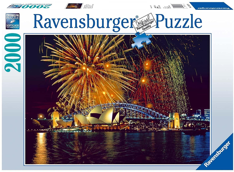 RAVENSBURGER REF 166220 FUEGOS ARTIFICIALES EN SIDNEY 2000 PIEZAS