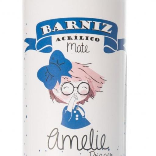BARNIZ SPRAY ACRILICO  MATE 400 ML AMELIE