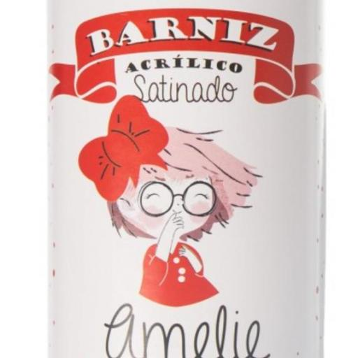 BARNIZ SPRAY ACRILICO  SATINADO 400 ML AMELIE