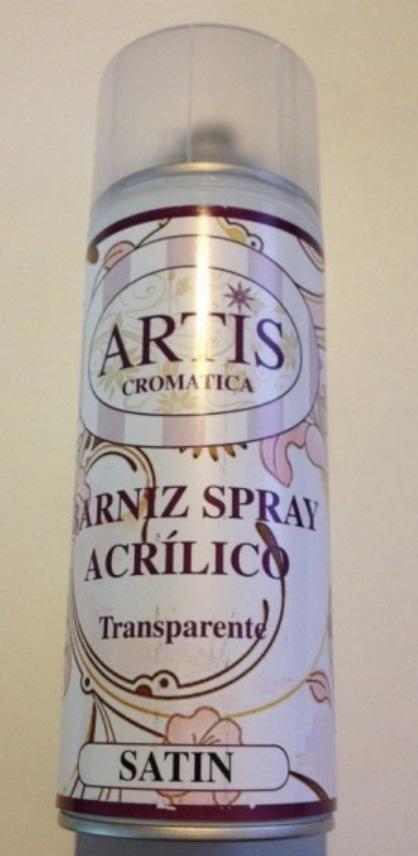 BARNIZ SPRAY ACRILICO TRANSPARENTE ARTIS CROMATICA COLOR SATIN