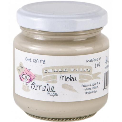 CHALK PAINT AMELIE  120ML COLOR 04  MOKA