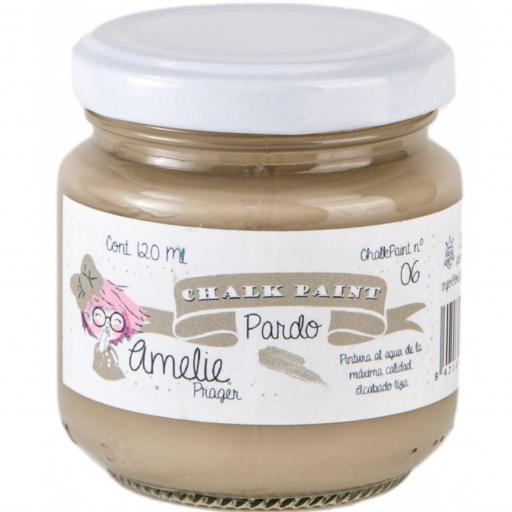 CHALK PAINT AMELIE  120ML COLOR 06 PARDO