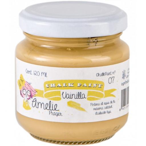 CHALK PAINT AMELIE  120ML COLOR 07  VAINILLA