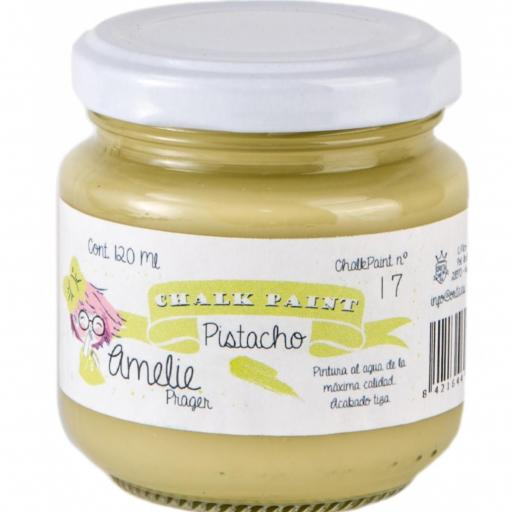 CHALK PAINT AMELIE  120ML COLOR 17 PISTACHO