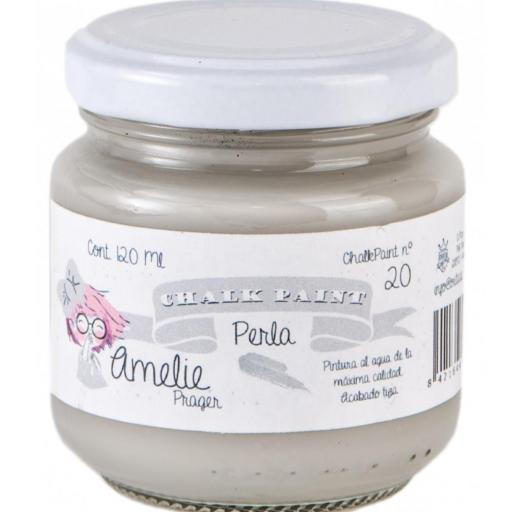 CHALK PAINT AMELIE  120ML COLOR 20 PERLA