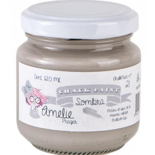 CHALK PAINT AMELIE  120ML COLOR 21 SOMBRA