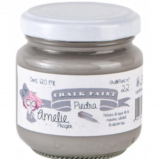 CHALK PAINT AMELIE  120ML COLOR 22 PIEDRA