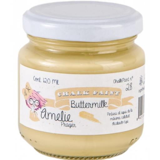 CHALK PAINT AMELIE  120ML COLOR 28 BUTTERMILK