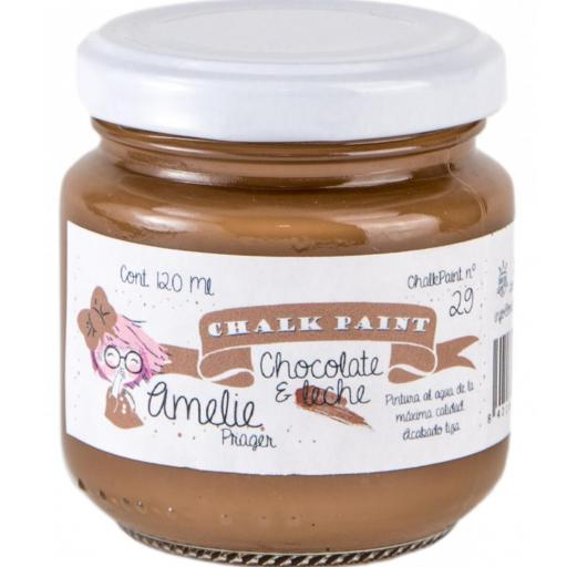 CHALK PAINT AMELIE  120ML COLOR 29 CHOCOLATE & LECHE