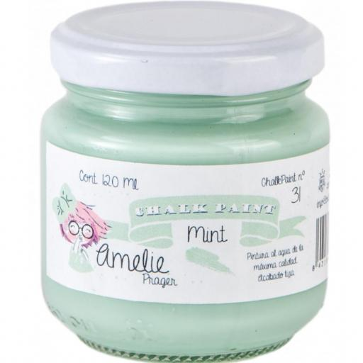 CHALK PAINT AMELIE  120ML COLOR 31 MINT