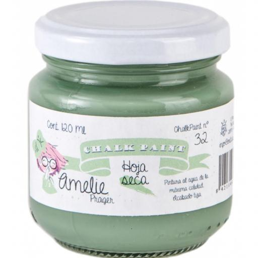 CHALK PAINT AMELIE  120ML COLOR 32 HOJA SECA