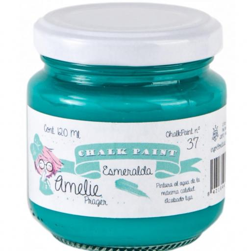 CHALK PAINT AMELIE  120ML COLOR 37 ESMERALDA