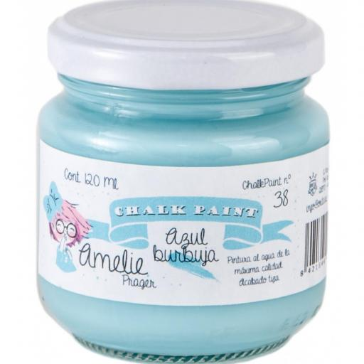 CHALK PAINT AMELIE  120ML COLOR 38 AZUL BURBUJA [0]