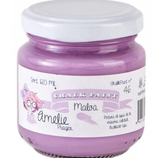 CHALK PAINT AMELIE  120ML COLOR 46 MALVA