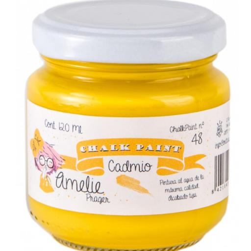 CHALK PAINT AMELIE  120ML COLOR 48 CADMIO