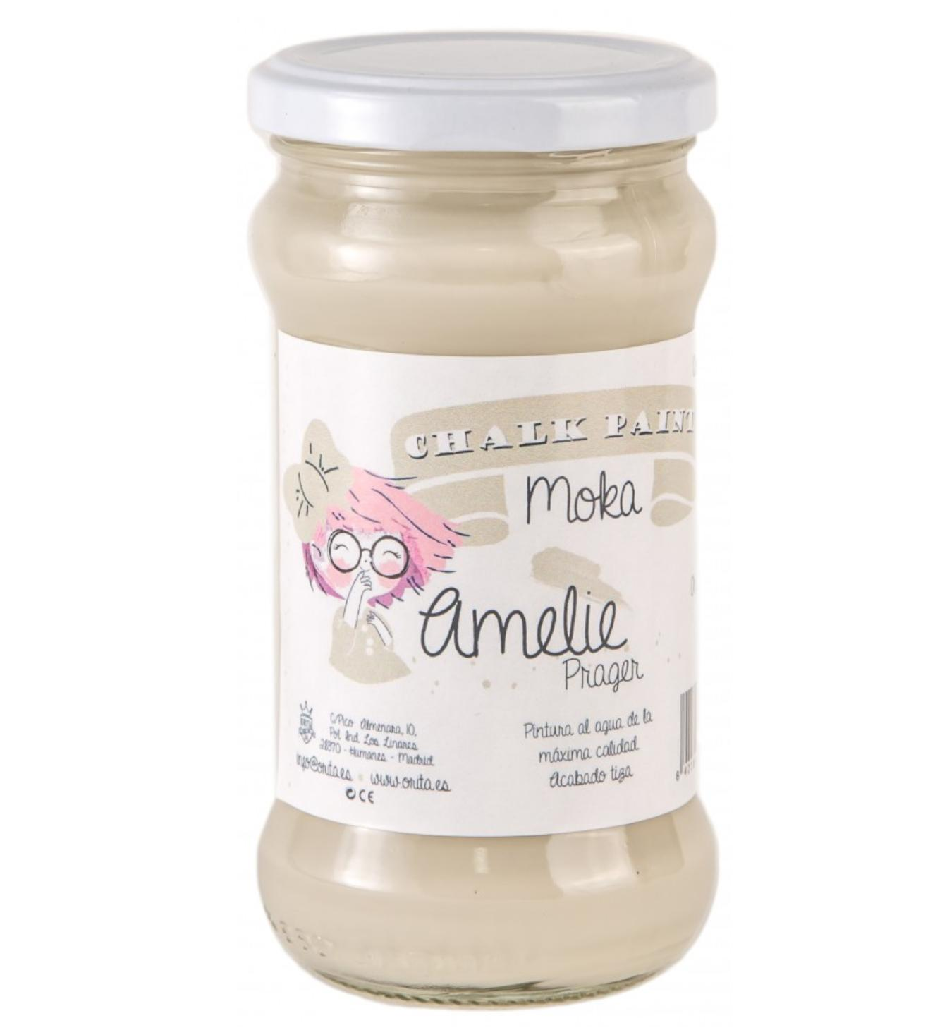 CHALK PAINT AMELIE  280ML COLOR  04 MOKA