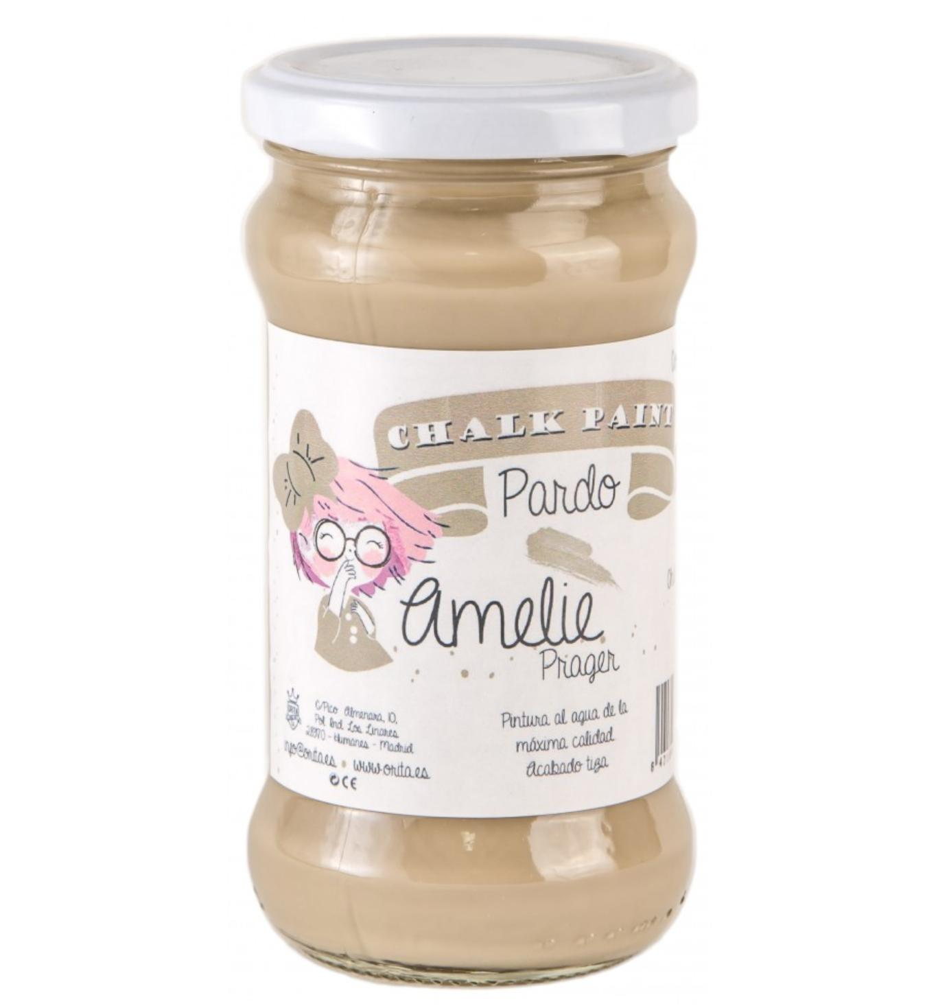 CHALK PAINT AMELIE  280ML COLOR 06 PARDO