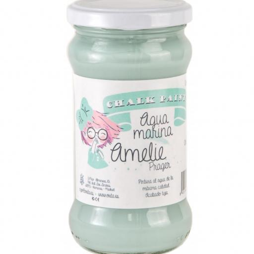 CHALK PAINT AMELIE  280ML COLOR 15 AGUAMARINA [0]