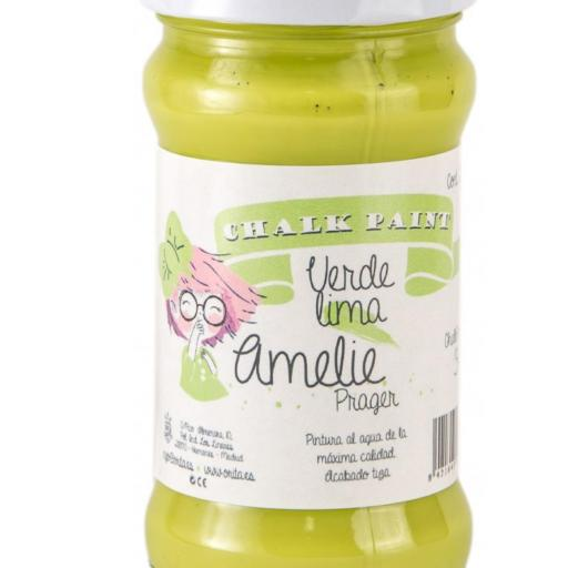 CHALK PAINT AMELIE  280ML COLOR 34 VERDE LIMA [0]
